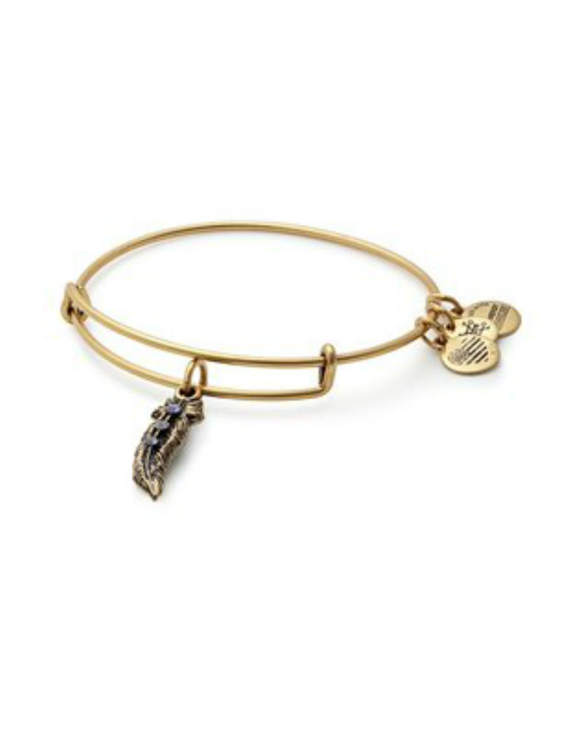 ALEX AND ANI A17EB25RG FEATHER II GOLD