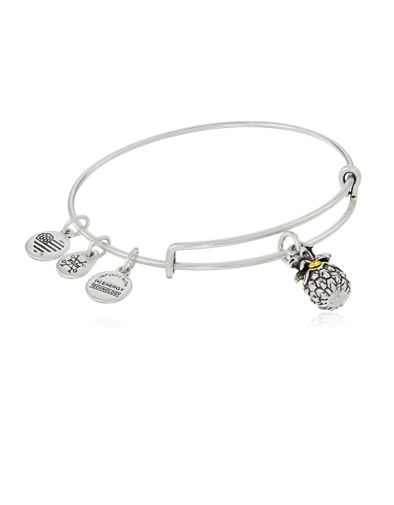 ALEX AND ANI A17EB26RS PINEAPPLE III SILVER