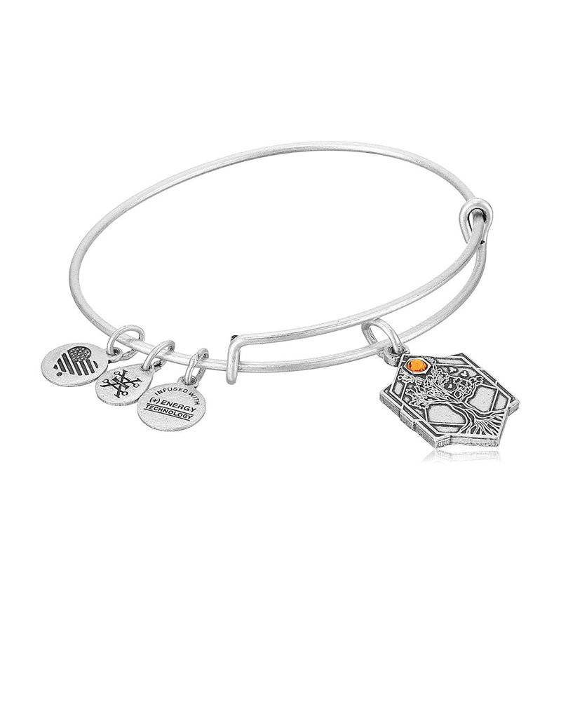 ALEX AND ANI A17EBTOLRS TREE OF LIFE IV SILVER