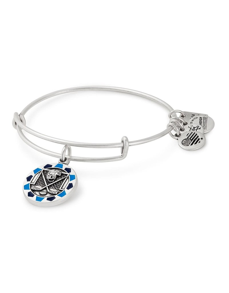 ALEX AND ANI AS17US07RS ICE HOCKEY SILVER