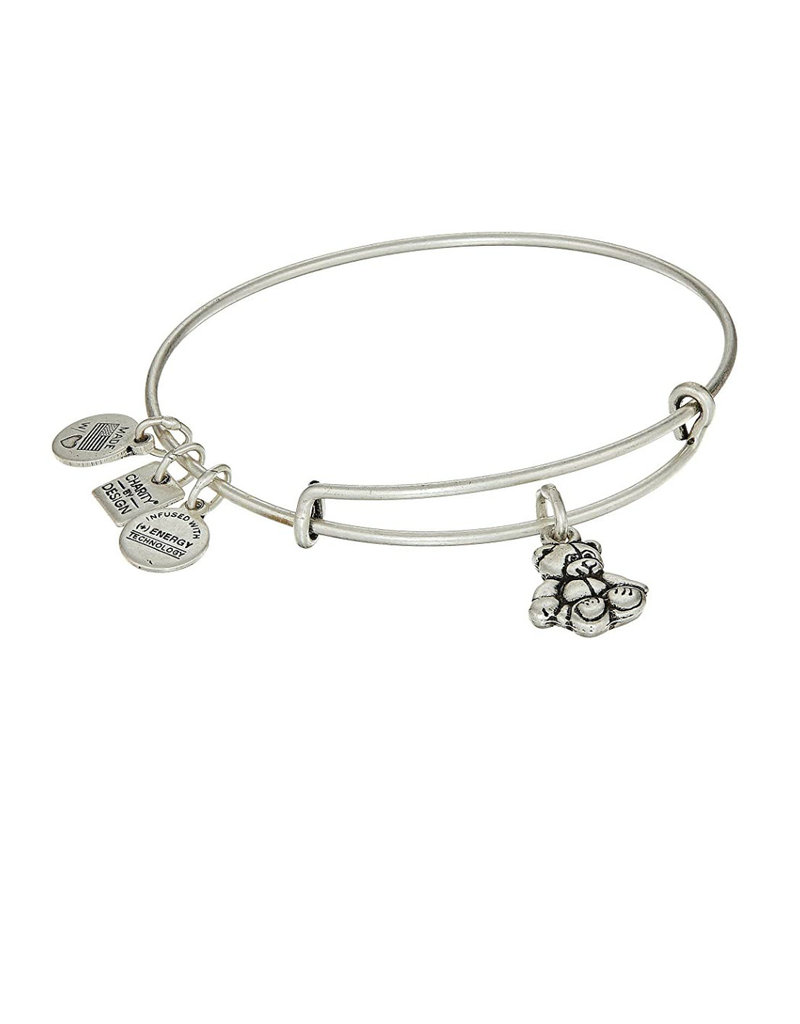 ALEX AND ANI CBD14LBBRS LITTLE BROWN BEAR SILVER