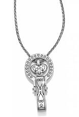 BRIGHTON J43380 Brighton Badge Clip Necklace