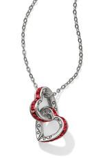 BRIGHTON JL9503 SPECTRUM PETITE HEART NECKLACE