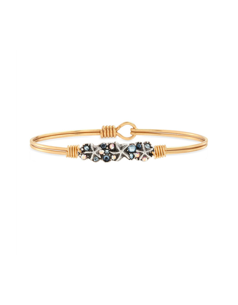 LUCA AND DANNI WWB111 STARFISH MEDLEY BRACELET BRASS TONE REGULAR