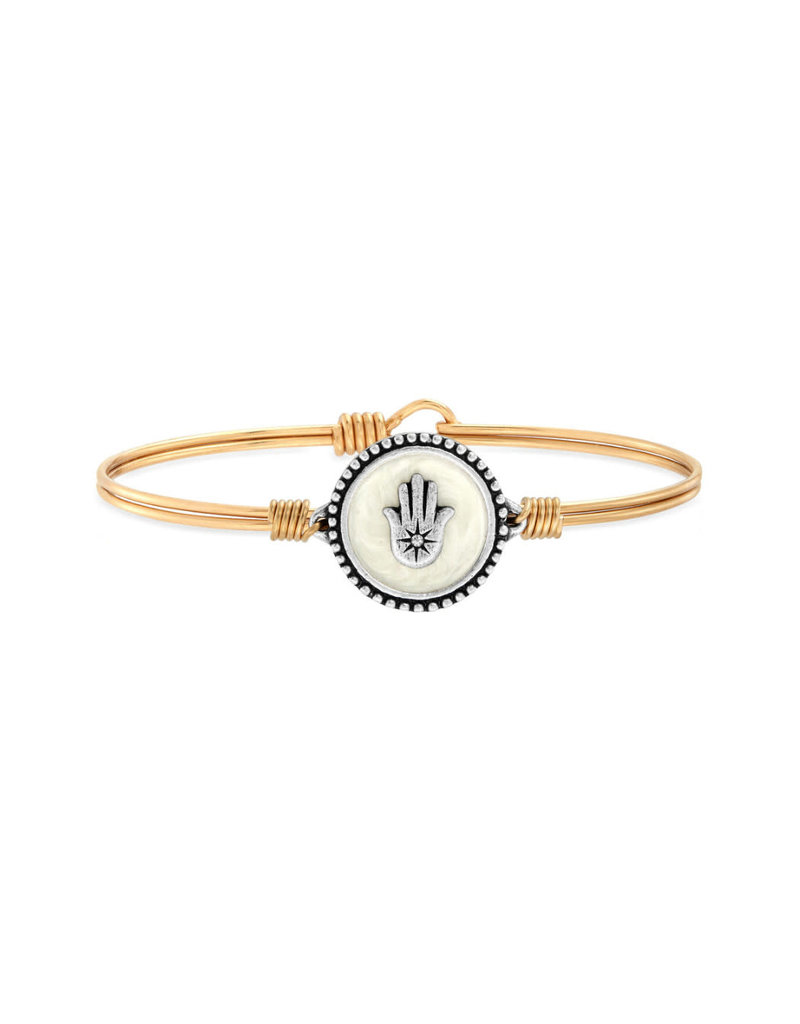 LUCA AND DANNI WWB162 HAMSA BRACELET BRASS TONE REGULAR