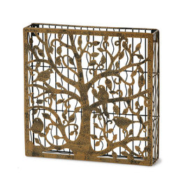 Oak & Olive Tree of Life Cork Cage / Box~Holds over 120+ Corks