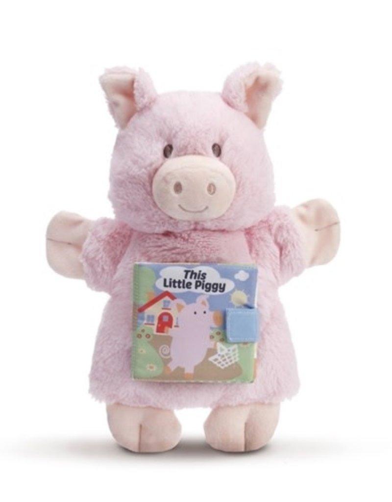 DEMDACO LTP THIS LITTLE PIGGY PUPPET BOOK