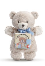 DEMDACO LTP TEDDY BEAR, TEDDY BEAR PUPPET BOOK