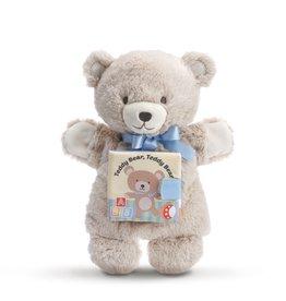 DEMDACO LTP TEDDY BEAR, TEDDY BEAR PUPPET BOOK
