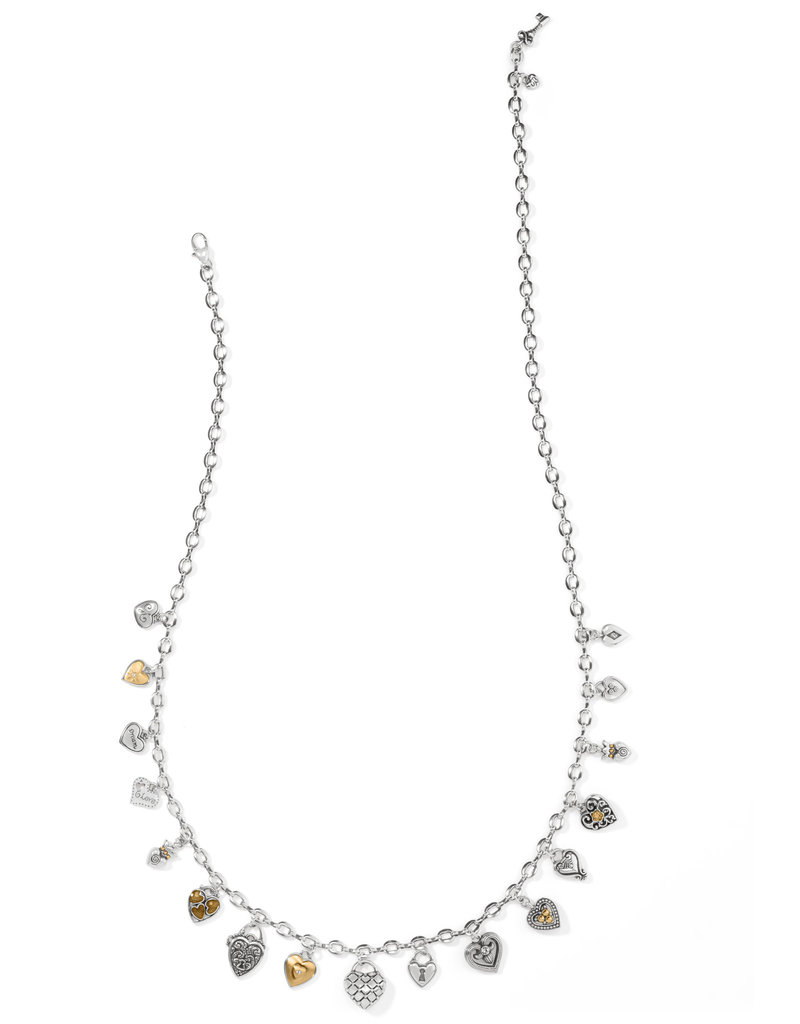 BRIGHTON JM3712 ONE HEART CHARM NECKLACE