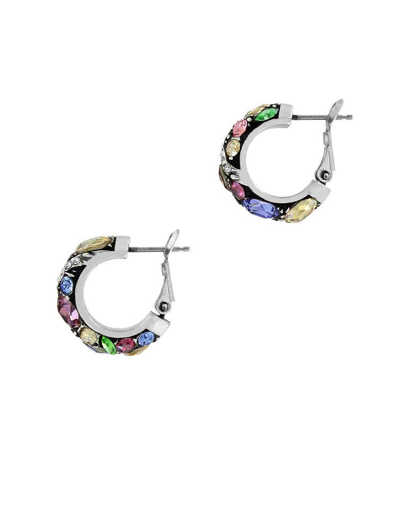 BRIGHTON JA4772 Trust Your Journey Hoop Earrings