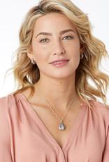 BRIGHTON JM0533 Trust Your Journey Lady Bug Reversible Necklace