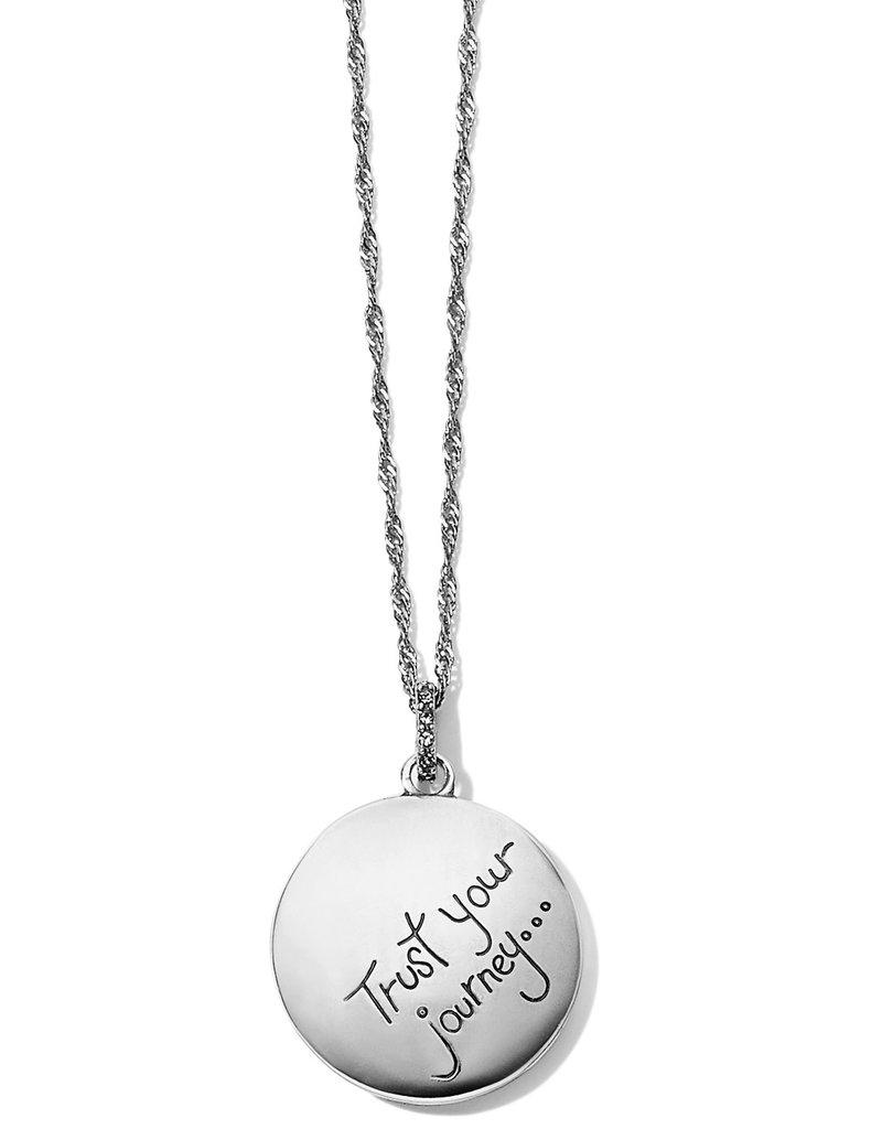 BRIGHTON JM2423 Trust Your Journey Wave Pendant Necklace