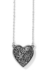 BRIGHTON JM3623 Moonlight Garden Heart Necklace