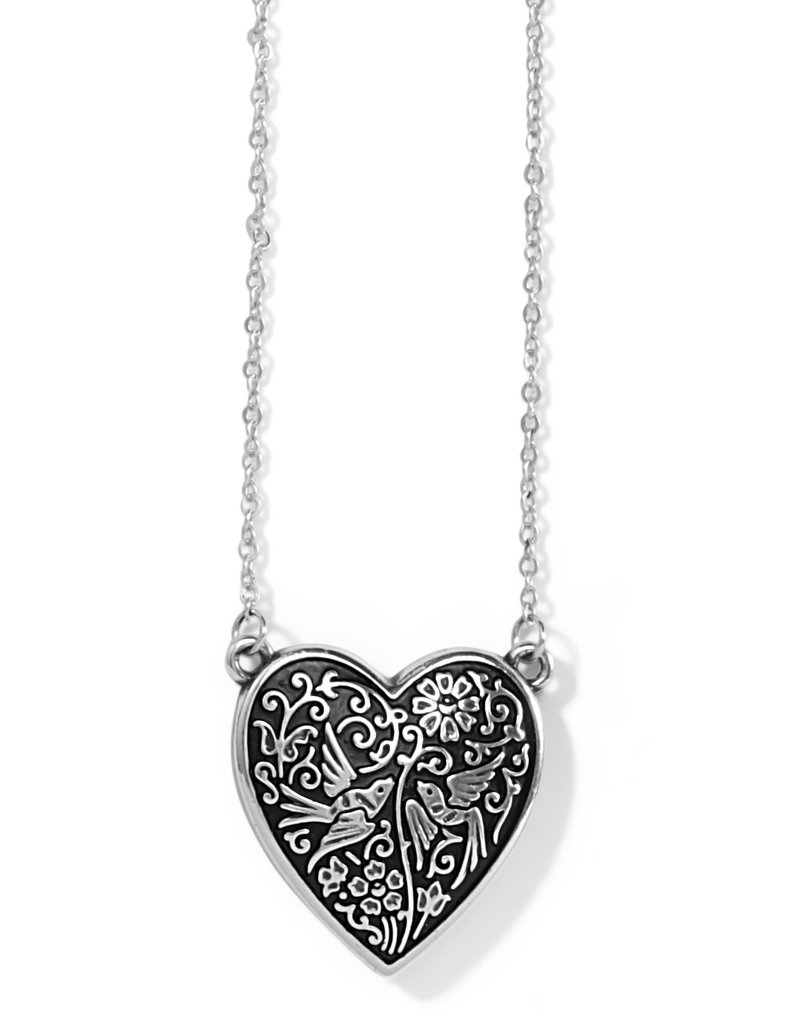 BRIGHTON JM3623 Moonlight Garden Heart Necklace