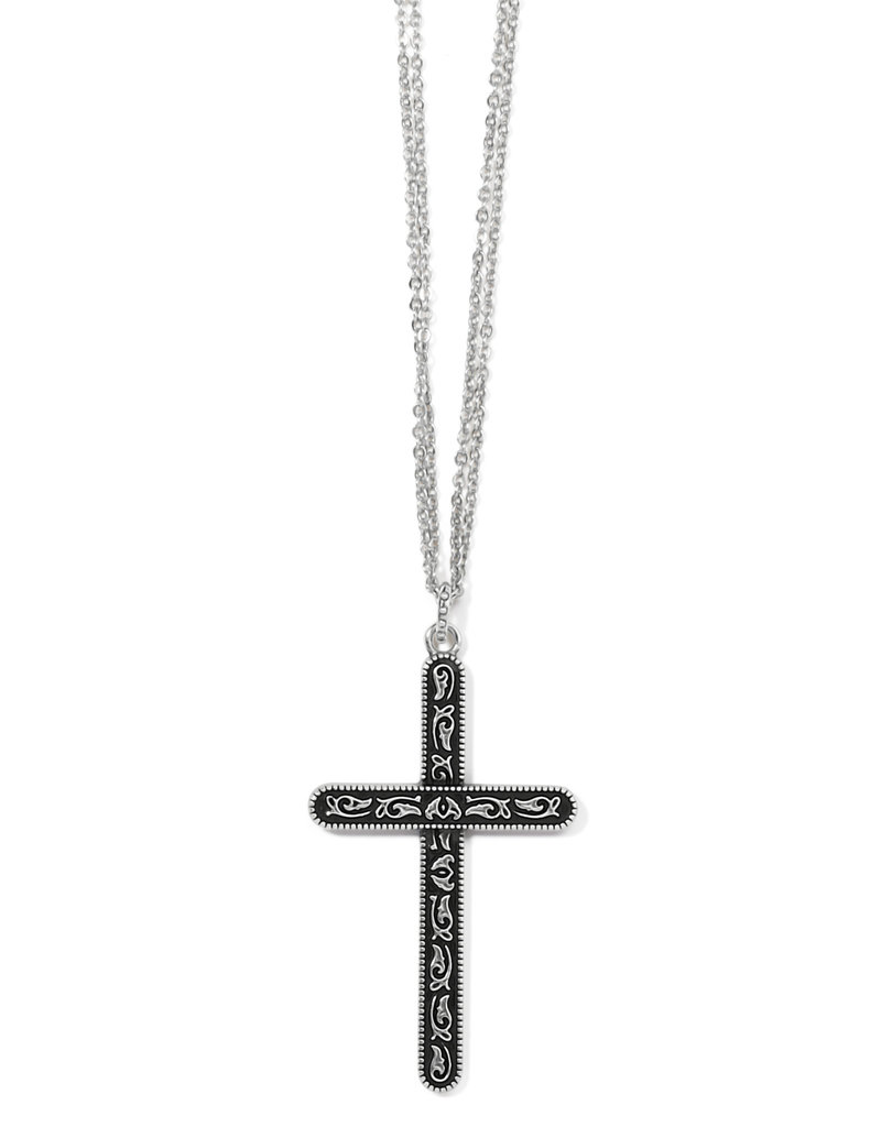 BRIGHTON JM3633 Moonlight Garden Convertible Cross Necklace