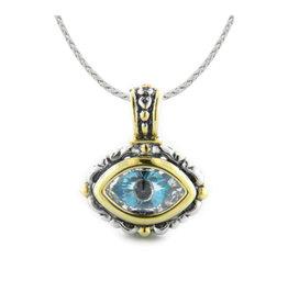 JOHN MEDEIROS K3688-A603 Little Inspirations Evil Eye SLIDER Charm