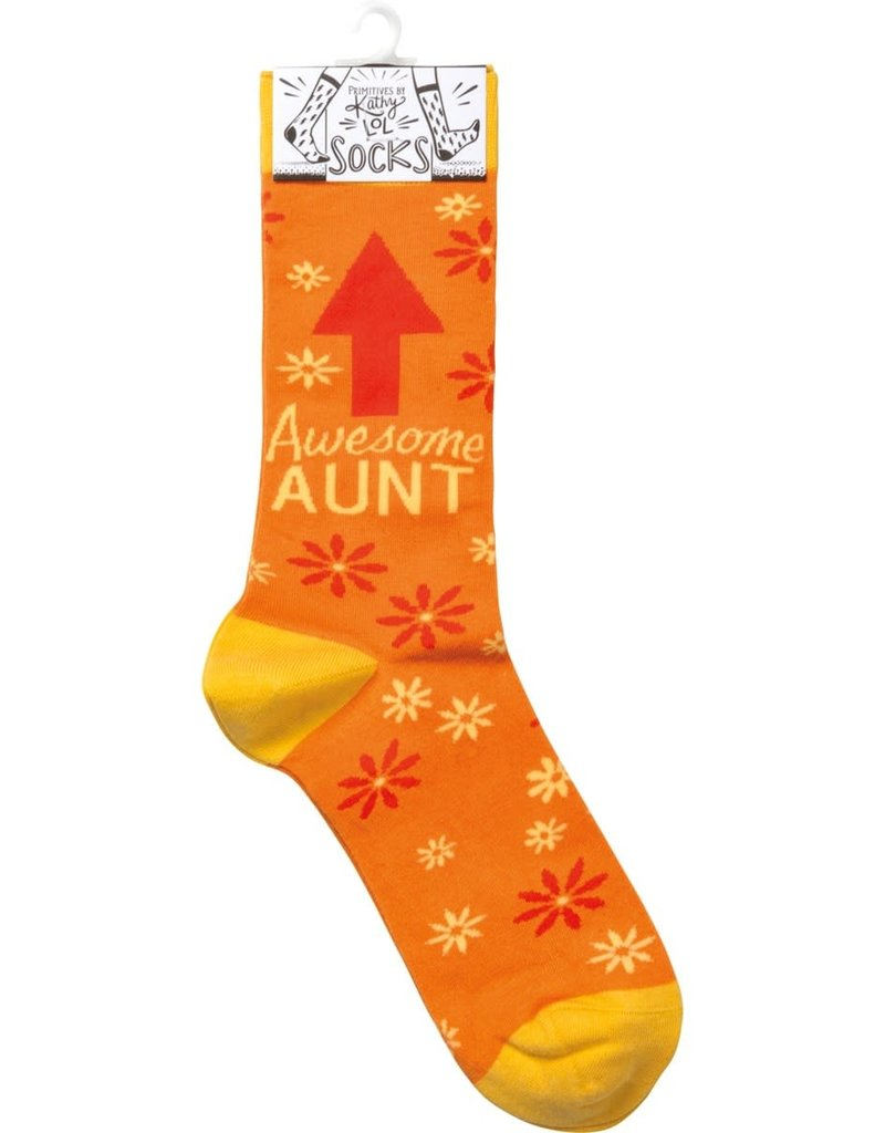 105926 Socks - Awesome Aunt