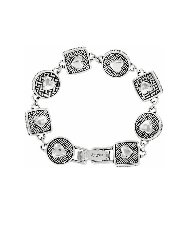 BRIGHTON J35132 Heiress Crystal Link Bracelet