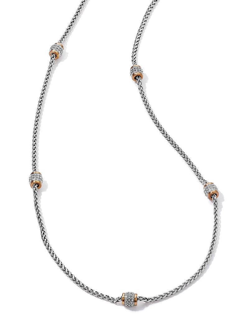 BRIGHTON JM3643 Meridian Two Tone Long Necklace