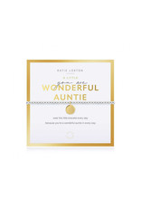 KATIE LOXTON KLJ3765 Beautifully Boxed A Littles   You Are Wonderful Auntie