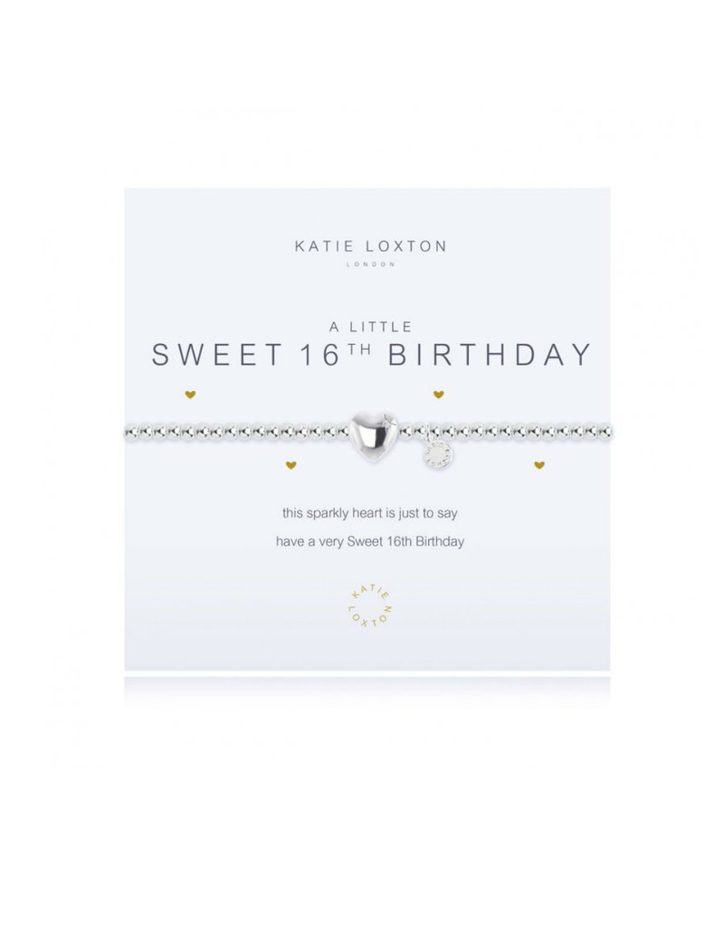 KATIE LOXTON KLJ1086 a little Sweet 16th Bracelet