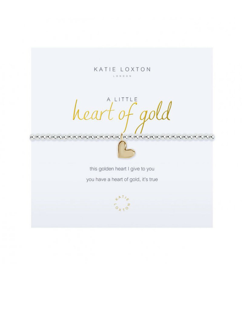 KATIE LOXTON KLJ2696 a little Heart Of Gold Bracelet