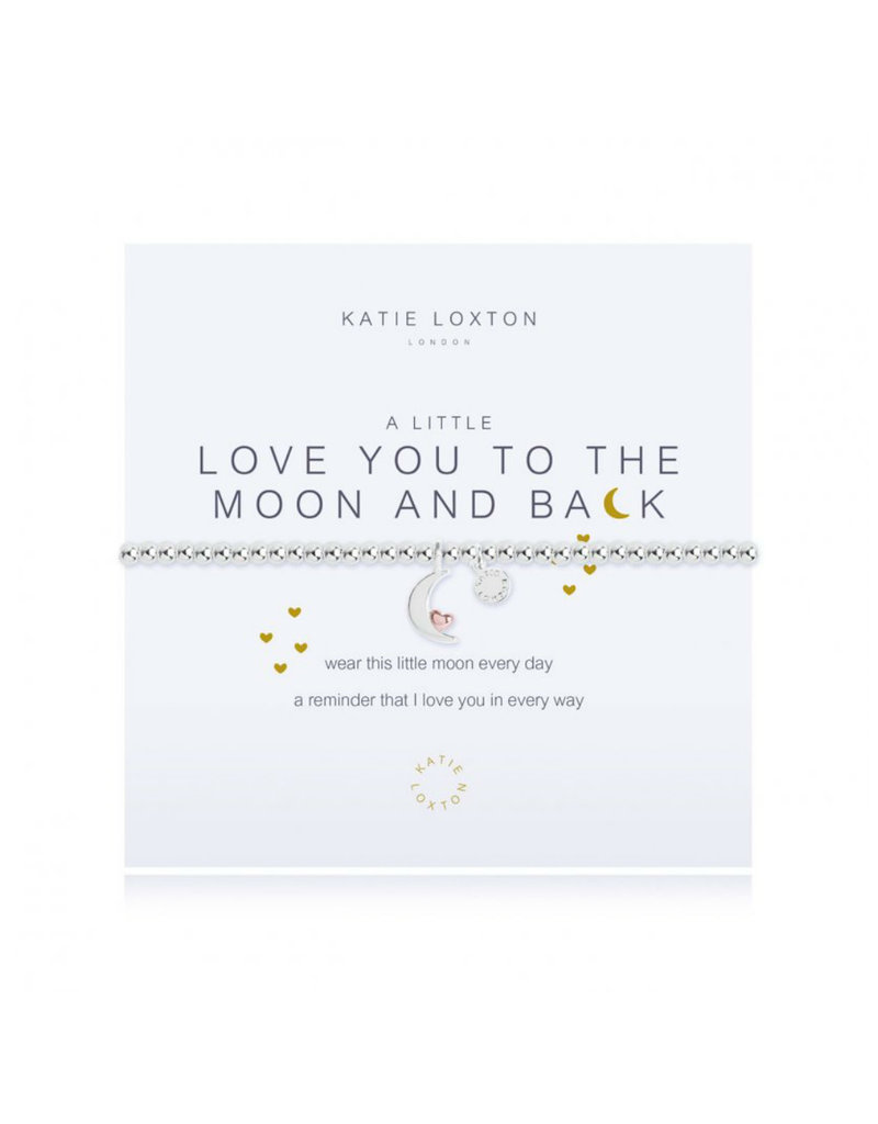 KATIE LOXTON KLJ2521 a little Love You To The Moon & Back Bracelet