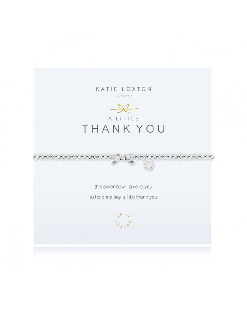 KATIE LOXTON KLJ334 A LITTLE THANK YOU BRACELET