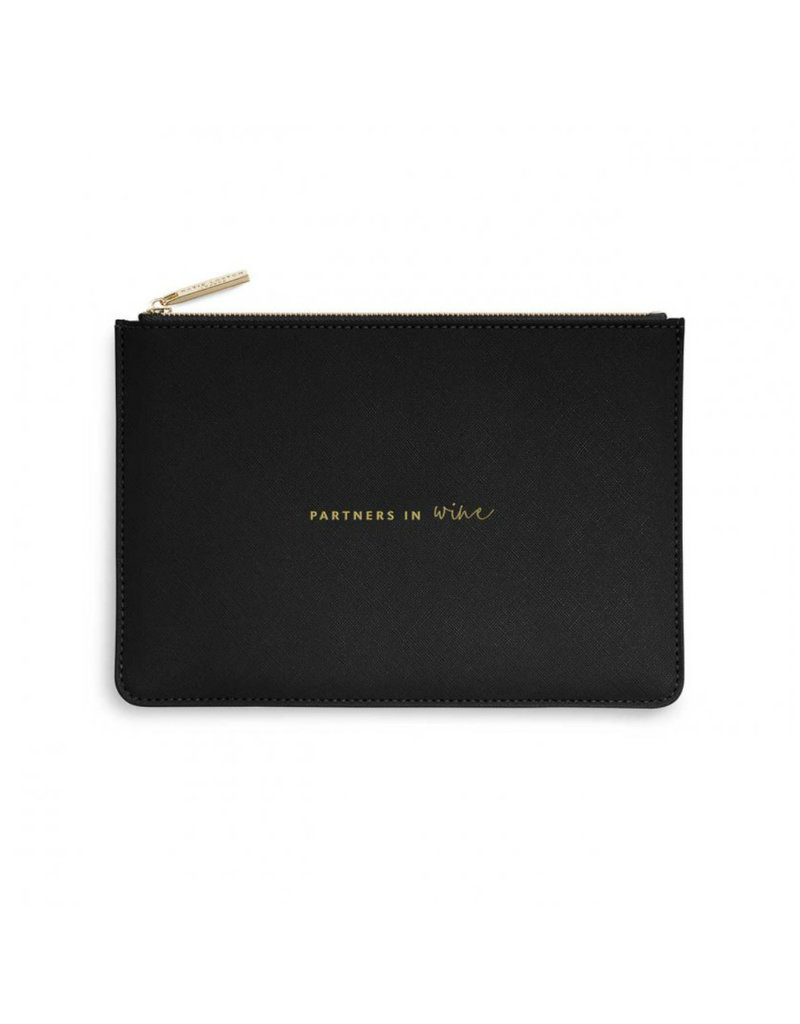 KATIE LOXTON KLB1071 Perfect Pouch | Partners In Wine | Black