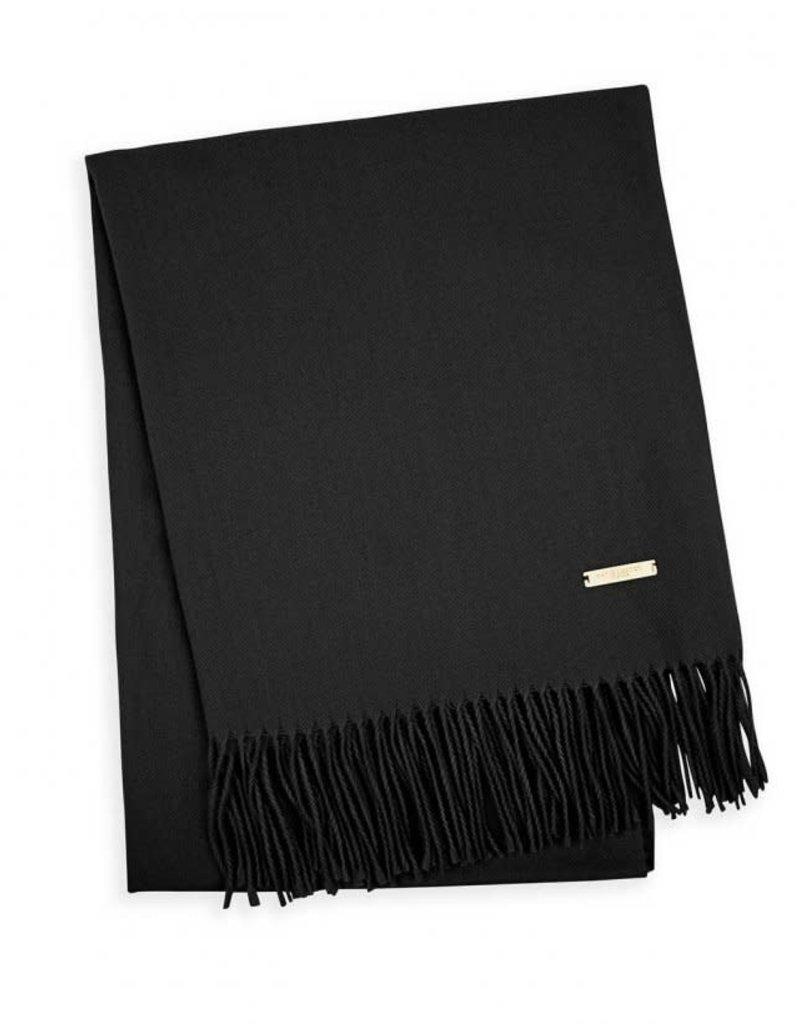 KATIE LOXTON KLS281 Thick Plain Scarf | Black