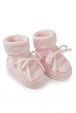 KATIE LOXTON BA0075 Knitted Baby Booties | Pink