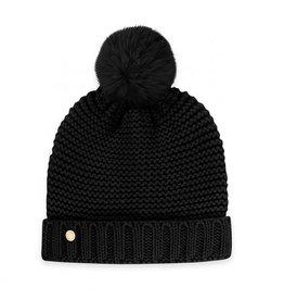 KATIE LOXTON KLS273 Chunky Knit Hat | Black
