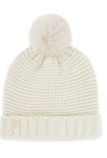 KATIE LOXTON KLS276 Chunky Knit Hat   Cream