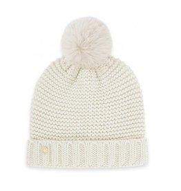 KATIE LOXTON KLS276 Chunky Knit Hat | Cream