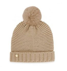 KATIE LOXTON KLS274 Chunky Knit Hat | Caramel