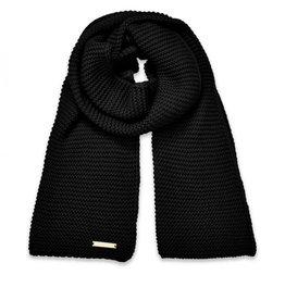 KATIE LOXTON KLS269 Chunky Knit Scarf | Black