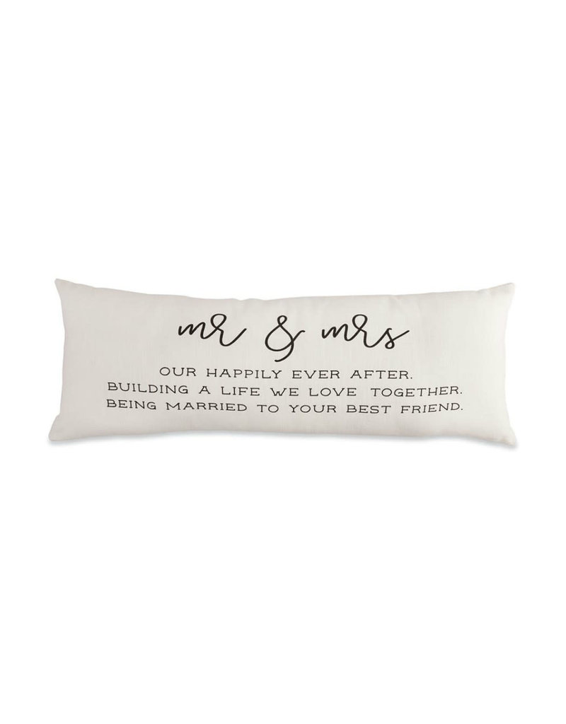 MUD PIE 41600337 MR AND MRS DEFINITION PILLOW