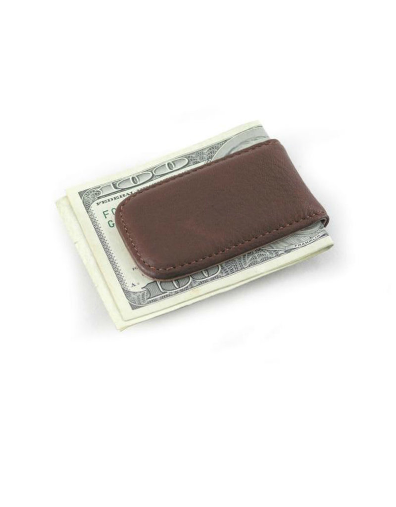 1555E MAGNETIC MONEY CLIP ESPRESSO