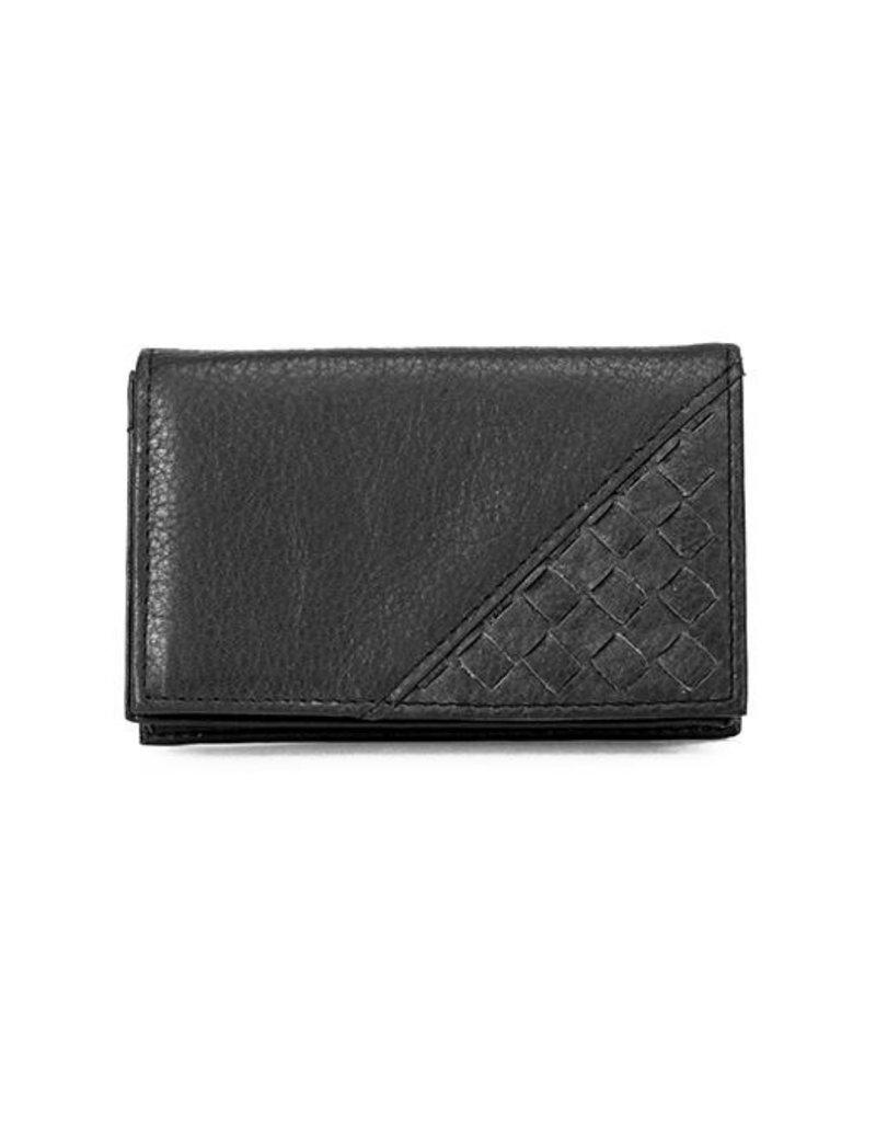 1323B WOVEN RFID ID CARDCASE BLACK