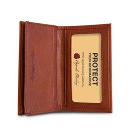 1212B  RFID GUSSET CARD CASE BLACK