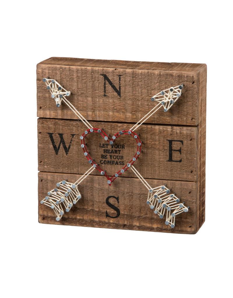 33187  String Art - Compass