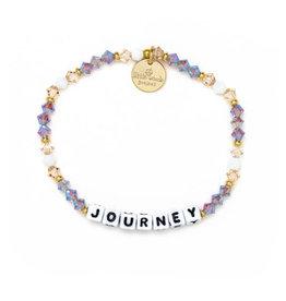LITTLE WORDS PROJECT Journey-Pearl Bracelet-WHITE