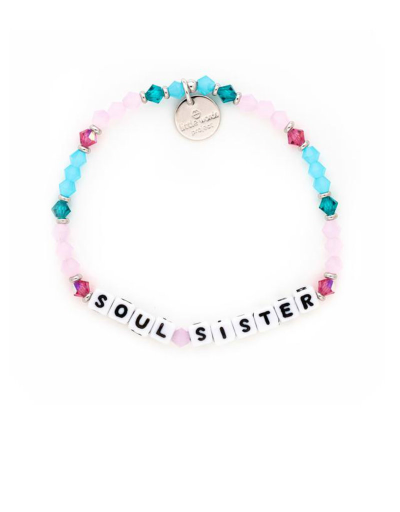 LITTLE WORDS PROJECT Soul Sister - White
