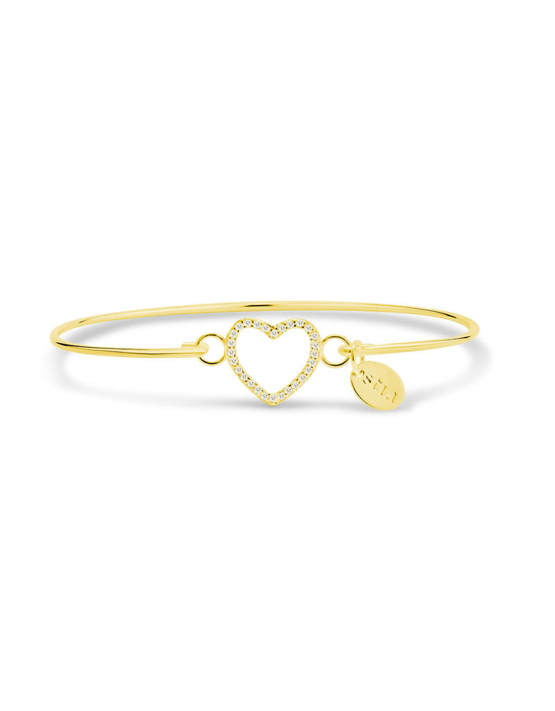 STIA PAV? ICON Bracelet- Open Heart GOLD