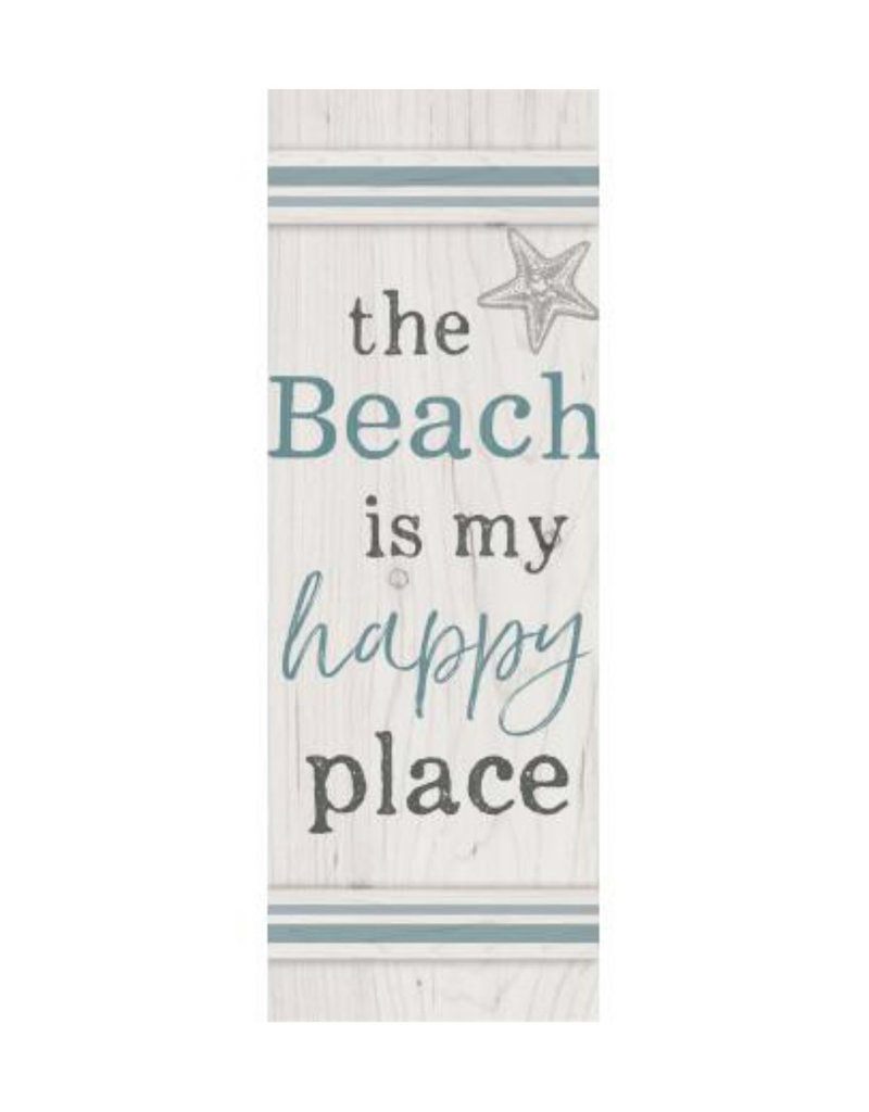HPL0024 THE BEACH IS MY HAPPY PLACE PALLET DECOR - 7X20