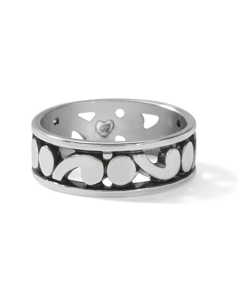 BRIGHTON J62870 CONTEMPO BAND RING