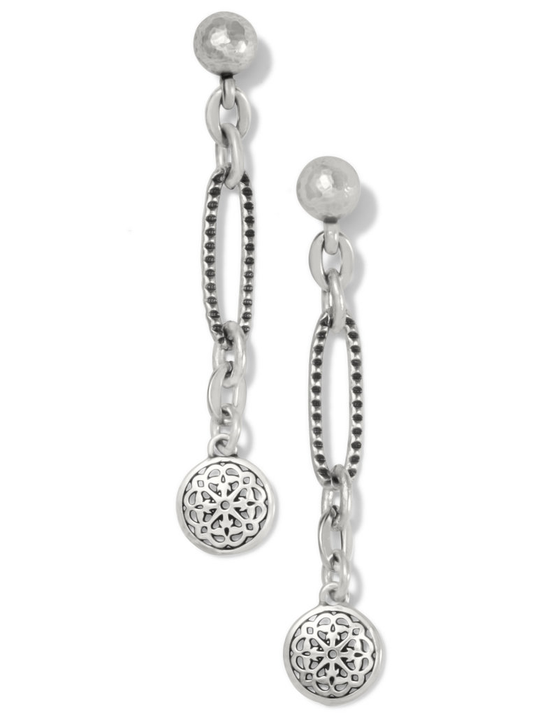 BRIGHTON JA7230 FERRARA LINK POST EARRINGS