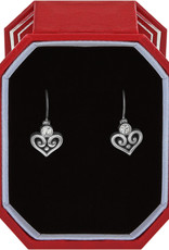 BRIGHTON JD1025 Alcazar Heart Leverback Earrings