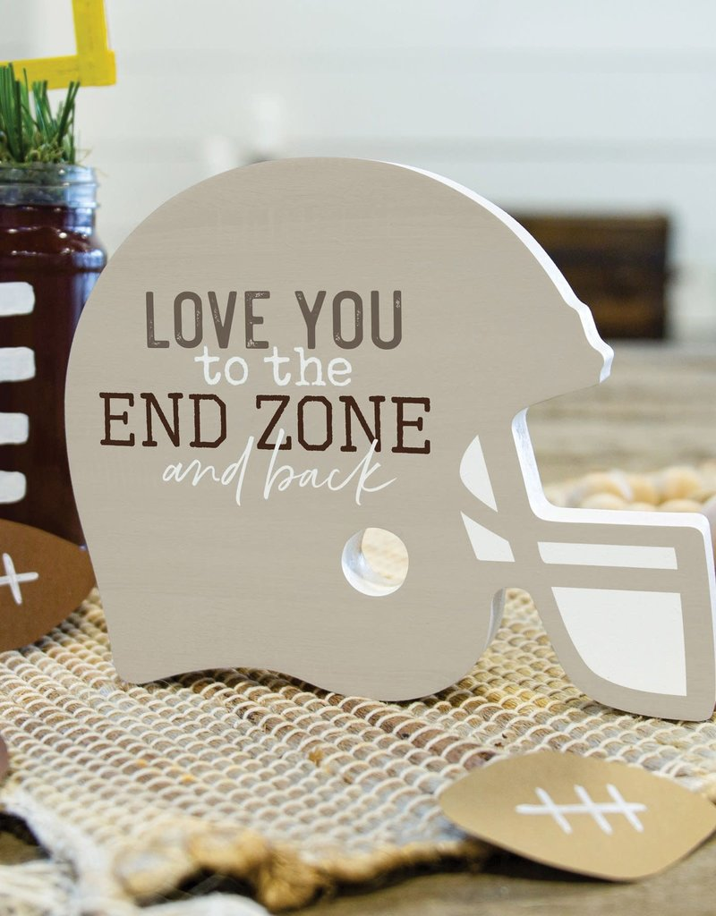 SAT0093 LOVE YOU TO THE ENDZONE AND BACK SHAPE - 5X6